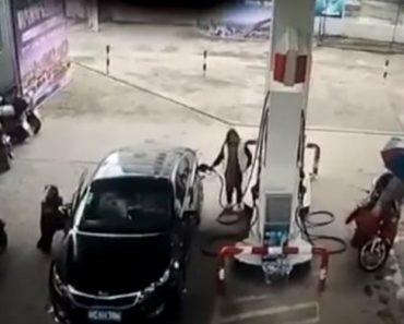 Ladrão Tenta Ser Discreto Ao Roubar Mala Do Carro, Mas Falha Miseravelmente Na Hora De Fugir 6