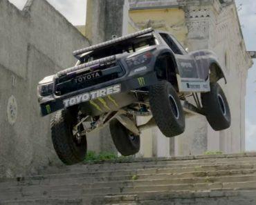 A Viagem Louca De BJ Baldwin Pelas Ruas De Havana Com Uma Trophy Truck De 850cv 8