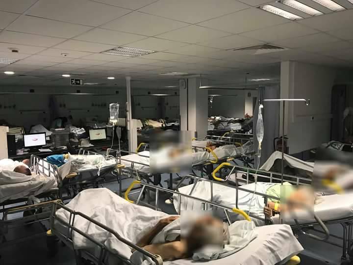 """Doentes """"Sem Condições Nem Dignidade"""" Em Macas Nas Urgências De Faro 1"""