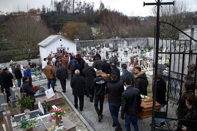 Casa De Vítima De Incêndio Em Tondela Assaltada Durante Funeral 3