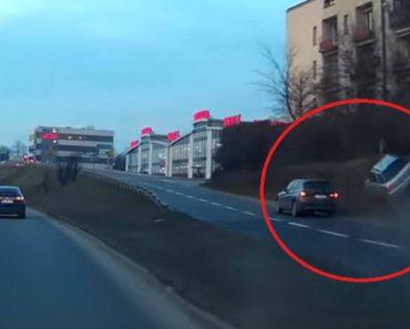 Condutor De Subaru Escapa De Impressionante Acidente Causado Por Condutor De BMW 2