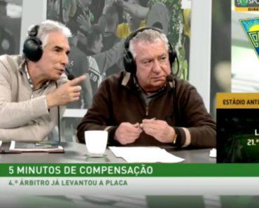 Comentadores Da Sporting TV Em Análise Aos Instantes Finais Do Estoril vs Sporting 8