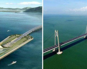 China Mostra a Maior Ponte Marítima Do Mundo Com 55 Quilómetros 9