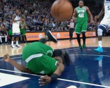 Impressionante Queda De Jaylen Brown Deixou Celtics De Coração Nas Mãos 3