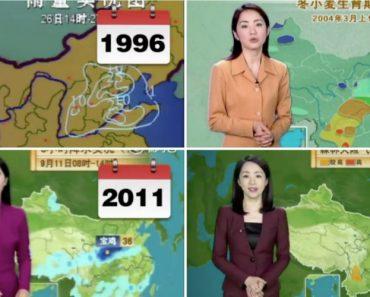 """Após 22 Anos De Programa """"Menina"""" Do Tempo Parece Não Envelhecer Desde 1996 2"""