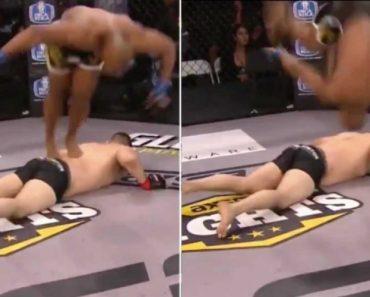 Lutador Desqualificado Após Saltar Em Adversário Quase Inconsciente 2