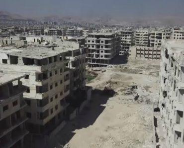 Assim Ficou Uma Localidade Na Síria Que Esteve No Controlo De Rebeldes Durante 7 Anos 7