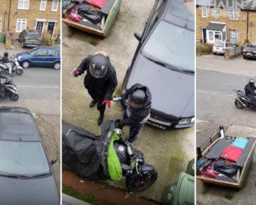 Ladrões Em Inglaterra Perdem o Medo e Já Assaltam Em Plena Luz Do Dia Como Se Nada Fosse 2