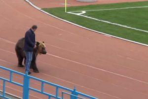 Jogo Da 3.ª Divisão Russa Teve Direito a Um Urso... No Estádio 6