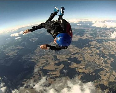 Paraplégico Realiza o Seu Grande Sonho, Saltar de Páraquedas 2