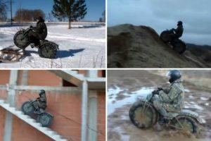 A Moto Russa Insuperável 10