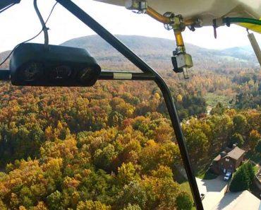 Ultraleve Avaria e Obriga Piloto a Aterrar De Emergência Numa Estrada 1