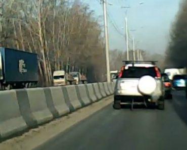 Condutor Sofre Acidente Após Perigosa Ultrapassagem De Automobilista Irresponsável 9