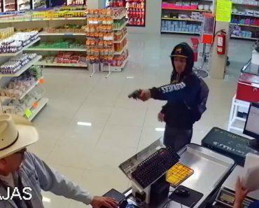 Homem Reage a Assalto e Desarma Ladrão Dentro De Um Supermercado 5