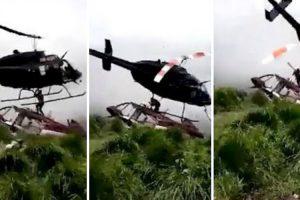 Homem Morto Por Helicóptero Que o Ia Salvar 10