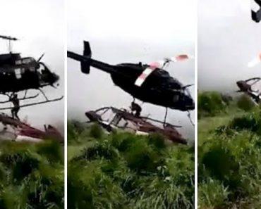 Homem Morto Por Helicóptero Que o Ia Salvar 5