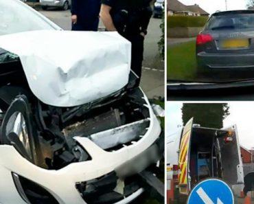 Câmara Instalada No Interior De Carro Revela Acidente Após Condução Perigosa De Automobilista Alcoolizada 7