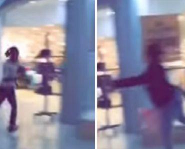 Mulher Consegue Parar Ladrão Que Fugia De Seguranças Do Shopping Com Toque De Classe 9