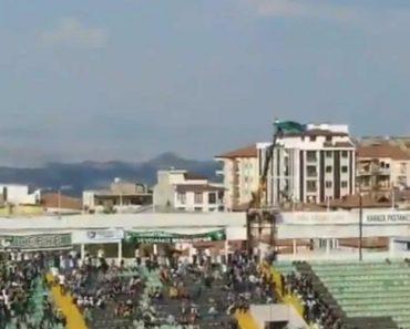 Inacreditável: Foi Banido Do Estádio e Alugou Grua Para Apoiar a Equipa 8