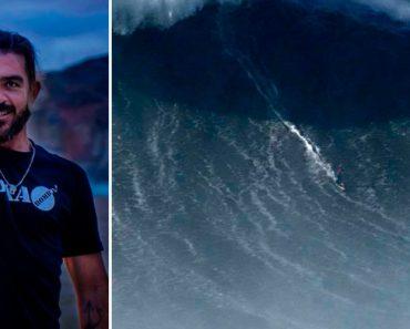 Rodrigo Koxa Surfou a Maior Onda Do Mundo Na Nazaré e Bateu o Recorde De Mcnamara 4