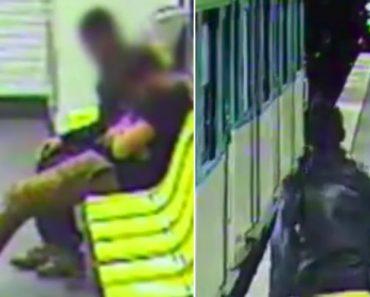 Ladrão Rouba Jovem Bêbado No Metro De Paris e Volta Atrás Para Salvá-lo 9