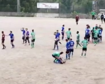 Árbitro é Agredido a Murro Por Guarda-Redes Durante Jogo Em Guimarães 1