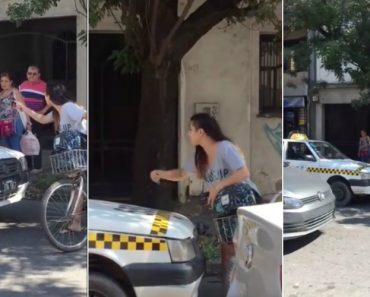 Mulher Pára Trânsito e Enfrenta Taxista Que Lhe Dirigiu Comentários Impróprios 7