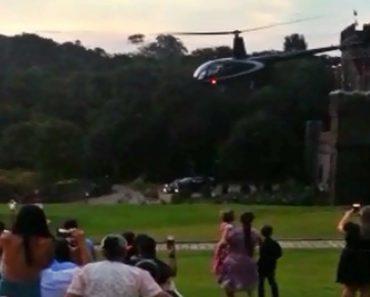 Helicóptero Que Transportava Noiva Para o Casamento Cai No Brasil 3