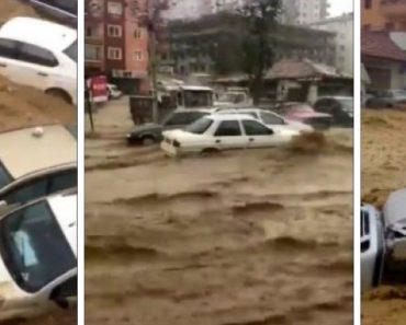 Imagens Revelam o Caos Na Capital Turca Com a Maior Inundação Dos Últimos 500 Anos 5