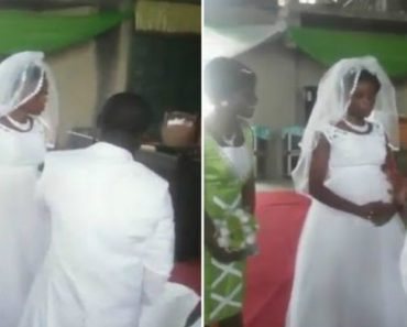 Noiva Visivelmente Zangada Recusa-se a Beijar o Noivo No Seu Próprio Casamento 7