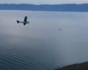 Avião Faz Amaragem De Emergência Em Lago, e Todos Os Passageiros Sobrevivem 4