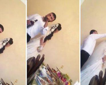 Noiva Humilhada Durante Festa De Casamento Com Whisky Derramado Sobre a Sua Cabeça 2