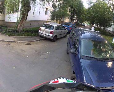 Motociclista Mostra o Pesadelo Que é Conduzir Em Bucareste Por Condutores Desrespeitarem As Regras 3