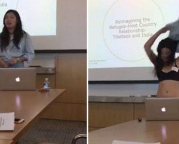 Estudante Despe-se Para Apresentar Tese, Em Protesto Contra Discriminação De Professora 7