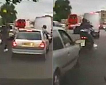 Ladrão Abandona Scooter Na Estrada Ao Confundir Sirenes De Ambulância Com Carro Policial 5