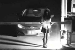 Jovem Chinesa Finge Ser Um Fantasma Para Evitar Pagar Estacionamento 9