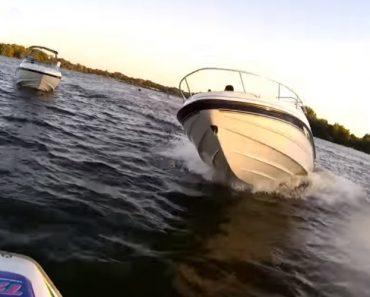 Barco Embate Contra Mota De Água Em Acidente Assustador 8