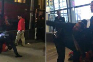 Imagens Mostram Seguranças a Agredir e Sufocar Rapaz Em Nova Iorque 9