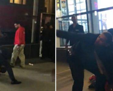 Imagens Mostram Seguranças a Agredir e Sufocar Rapaz Em Nova Iorque 4