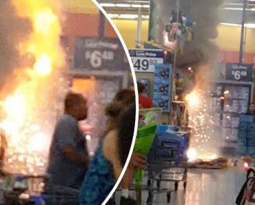 Cliente Provoca Incêndio Depois De Acender Fogo-De-Artifício Que Estava Para Venda Em Supermercado 3