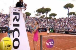 Tenista Karolina Pliskova Destrói Raquete Na Cadeira Da Árbitra 9