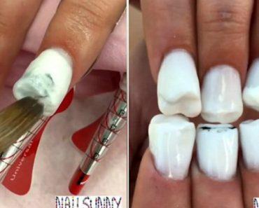 Estas Unhas De Dentes São a Prova De Que a Nail Art Não Tem Limites 7