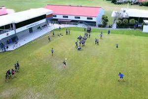 Jovem Desportista Derruba Drone Com Bola De Futebol 8