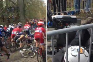 """""""Cabeçudo"""" Provoca Choque Em Cadeia Enquanto Assistia a Prova De Ciclismo 10"""