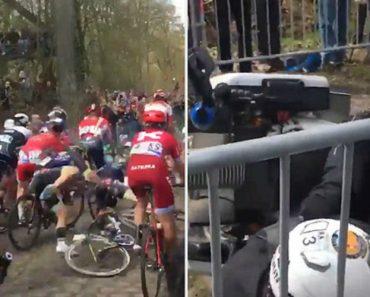 """""""Cabeçudo"""" Provoca Choque Em Cadeia Enquanto Assistia a Prova De Ciclismo 3"""