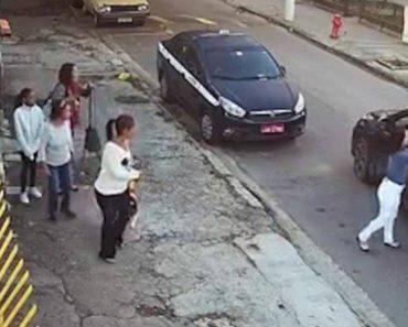 """Criminosos """"Comodistas"""" Assaltam Grupo De Mulheres Sem Sequer Saírem Do Carro 3"""