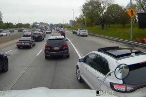 """Camionista Vinga-se De Condutora Que """"Entrou"""" Sem Pedir Licença 9"""
