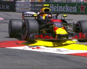 Verstappen Perde o Controlo Do Carro e Despista-se No Mónaco 5