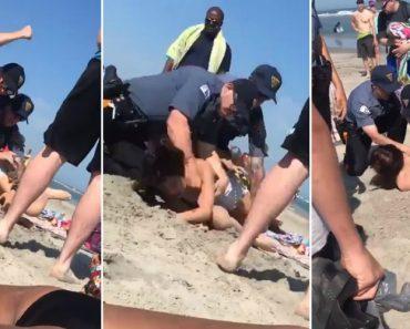 Vídeo De Mulher a Ser Agredida Por Polícia Em Nova Jérsia Gera Indignação 9