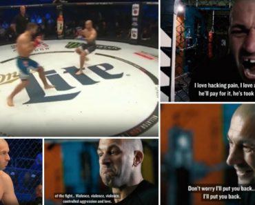 """Lutador De MMA a """"Espumar De Agressividade"""" Antevê Aniquilação Do Adversário No Ringue... Só Que Não! 2"""